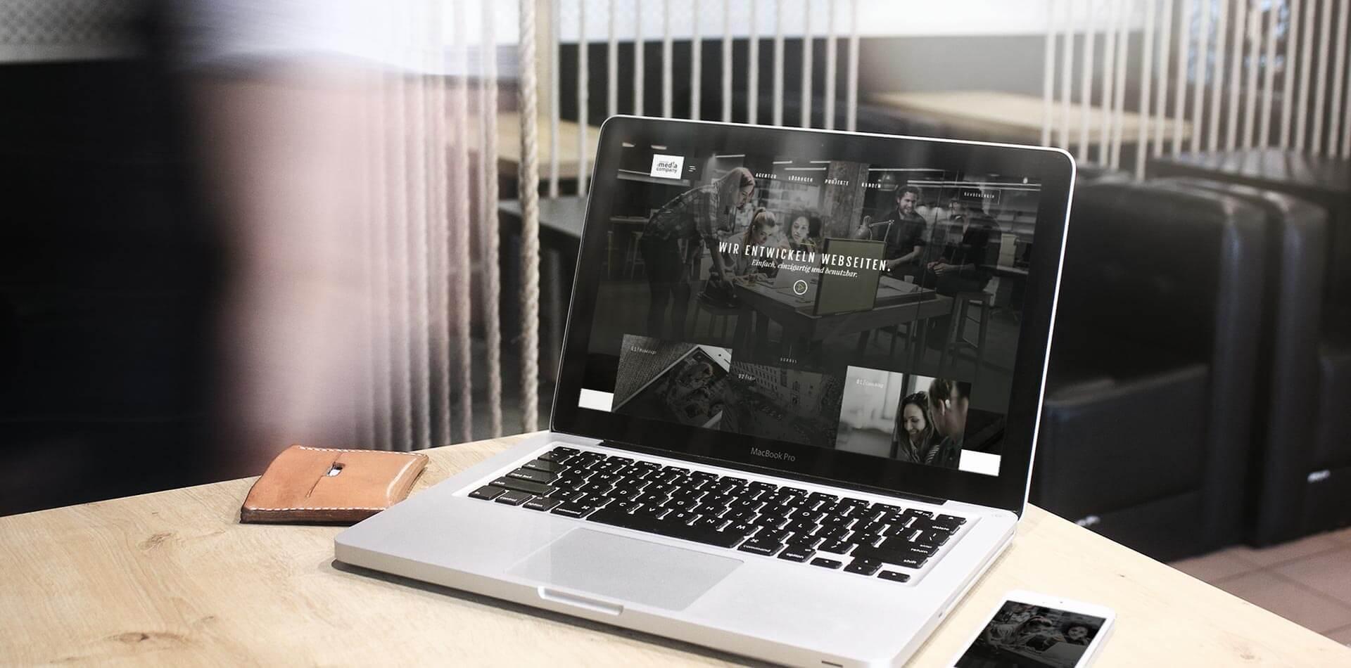 Unser Webdesign - Innovationen entwickeln und Trends setzen