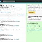 Media Company Twitter