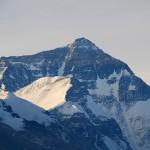 Spitze des Mount Everest