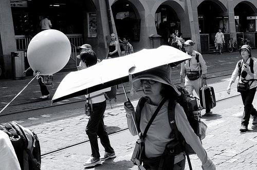 Schutz-Schirm