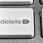 Löschen-Taste einer Tastatur