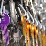Schlüsselbund und viele Schlüssel