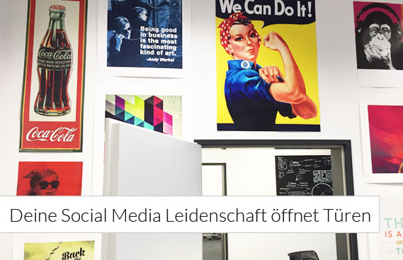 Social Media Manager gesucht (m/w)!