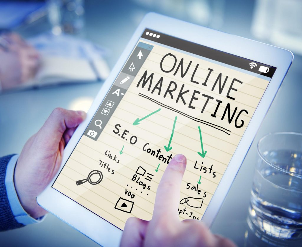 Ipad - Online Marketing Optionen