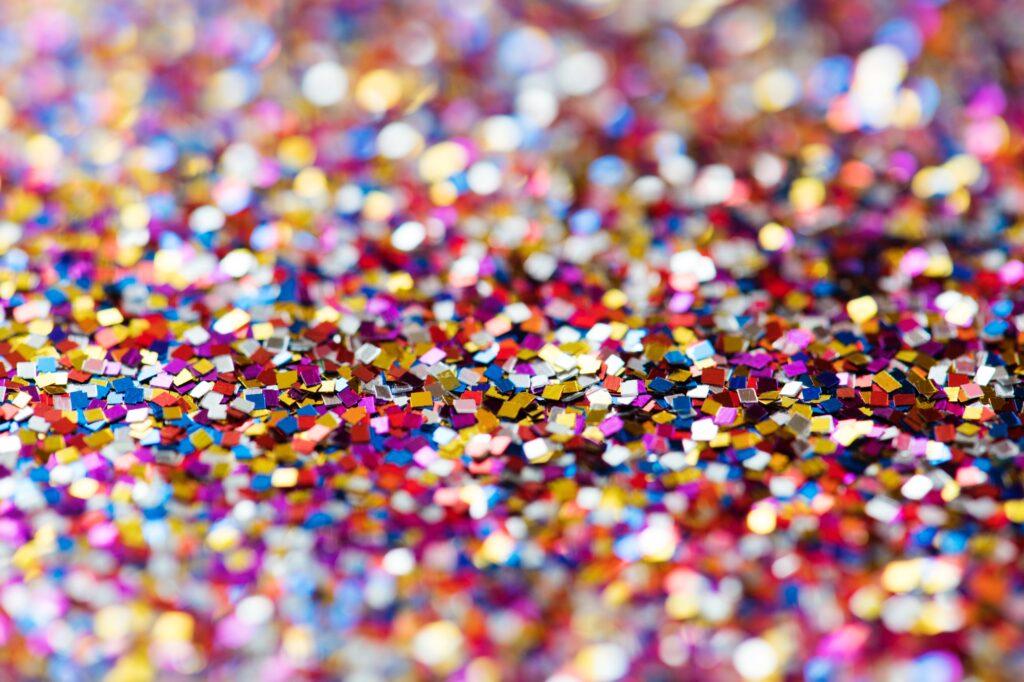 Buntes Confetti