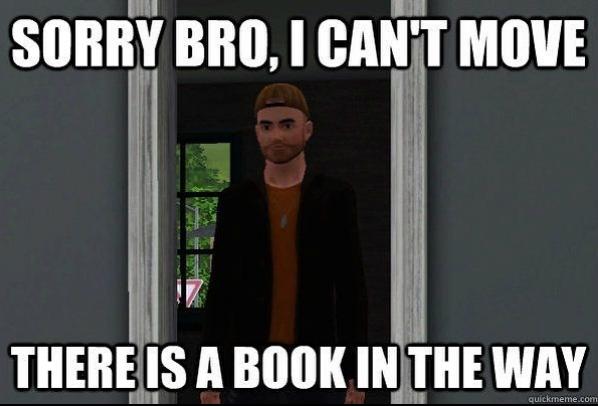 Screenshot vom Spiel Sims