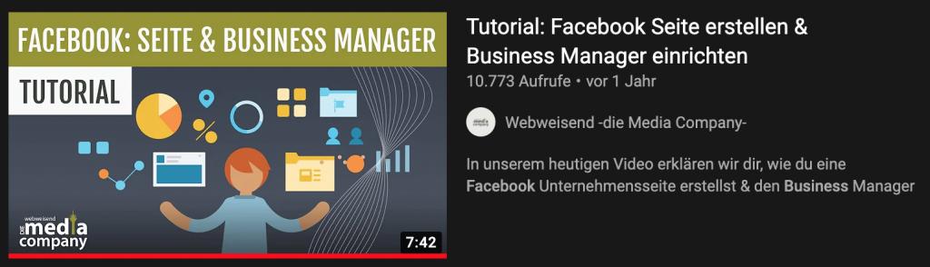 Beispiel Video Thumbnail - Blog: YouTube SEO