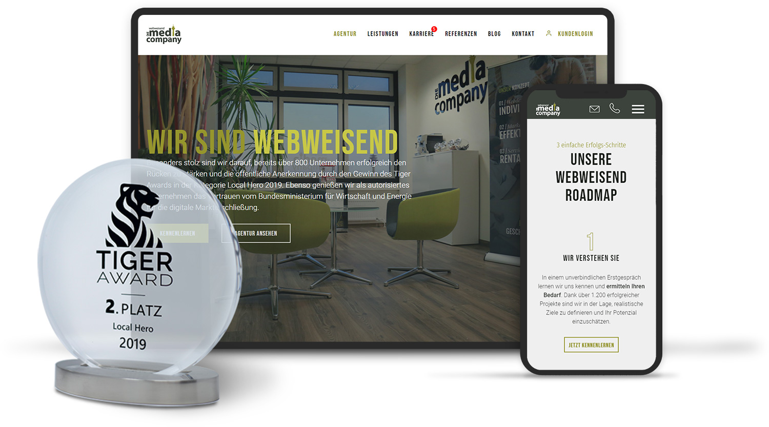 Webdesign made in Düsseldorf